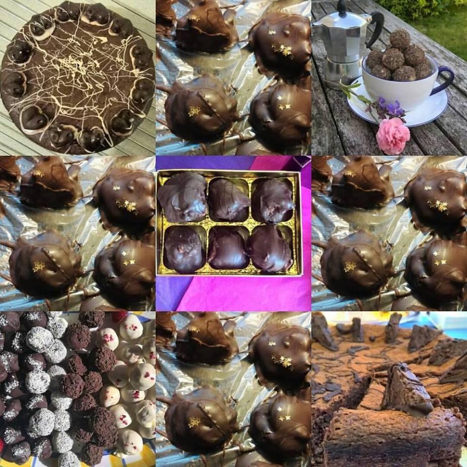 chocolate, truffles,homemade,Belgian,champagne,fizz,Christmas,