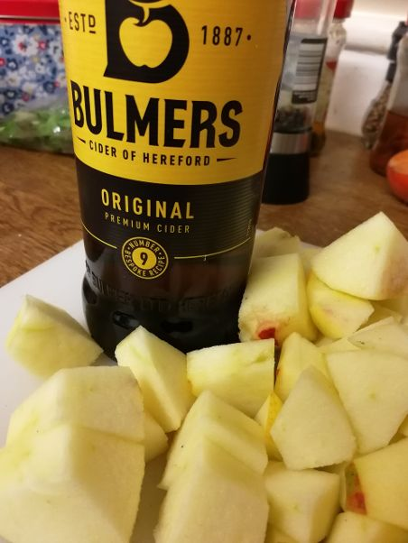dryjanuary, cider, apples, recipe, cooking