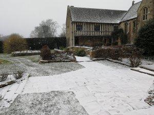 Manor House, Wiltshire, Great Chalfield, gardens, rambling