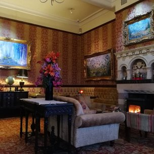 historic hotels, Cornwall, log fires, cream teas, food