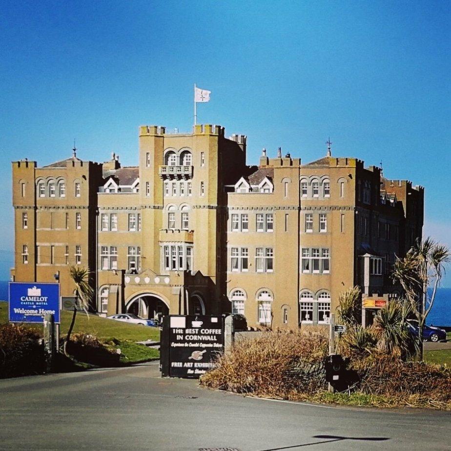 Camelot Castle Hotel,Tintagel.