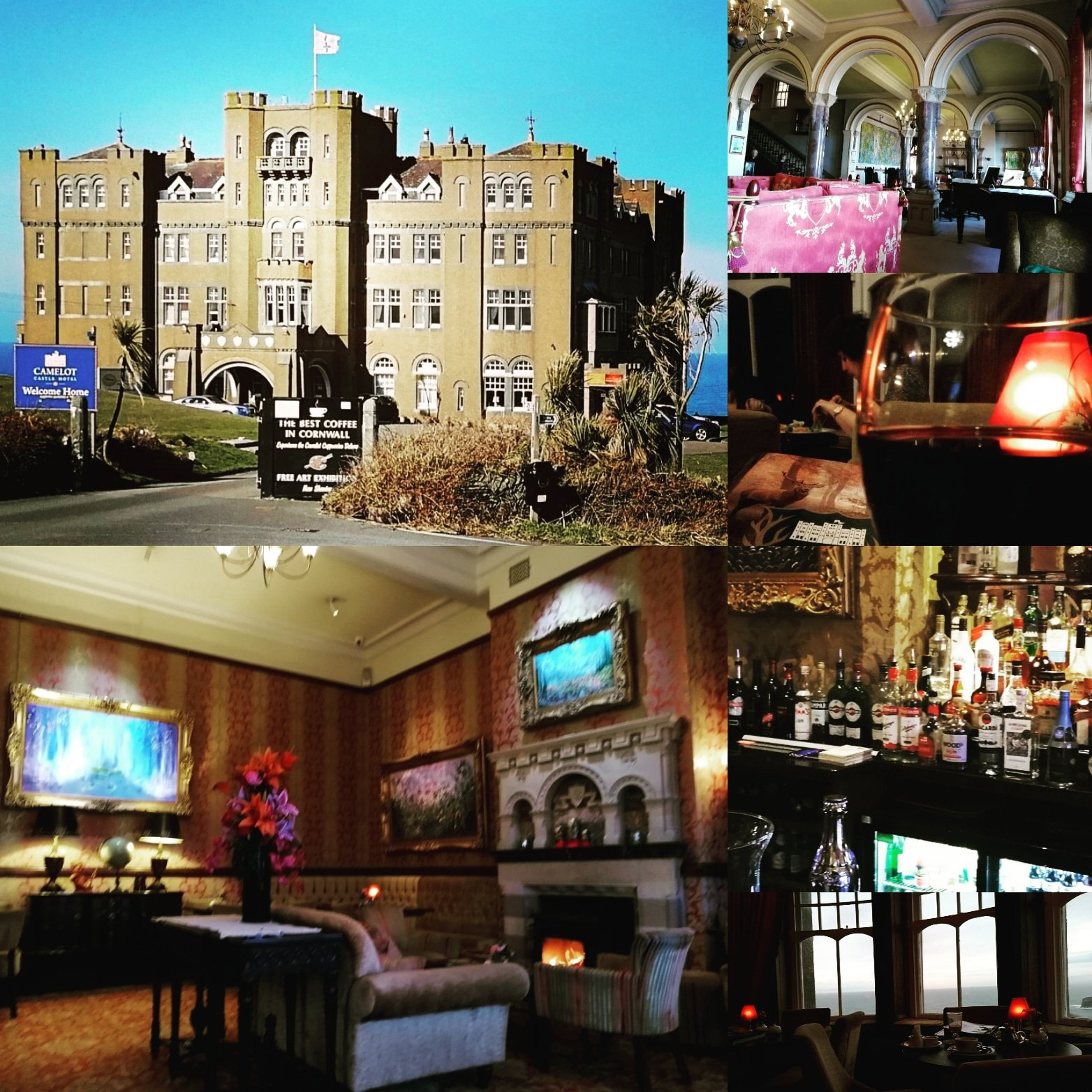 Hotel, Accommodation, Tintagel, Cornwall, King Arthur,