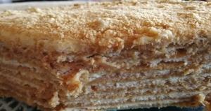 honey, cake, afternoon tea, layer cake, homemade