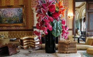 afternoon tea, homemade cakes, scones, Cornish cream