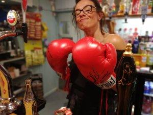 Friday night, fun, boxing, pubs, accommodation