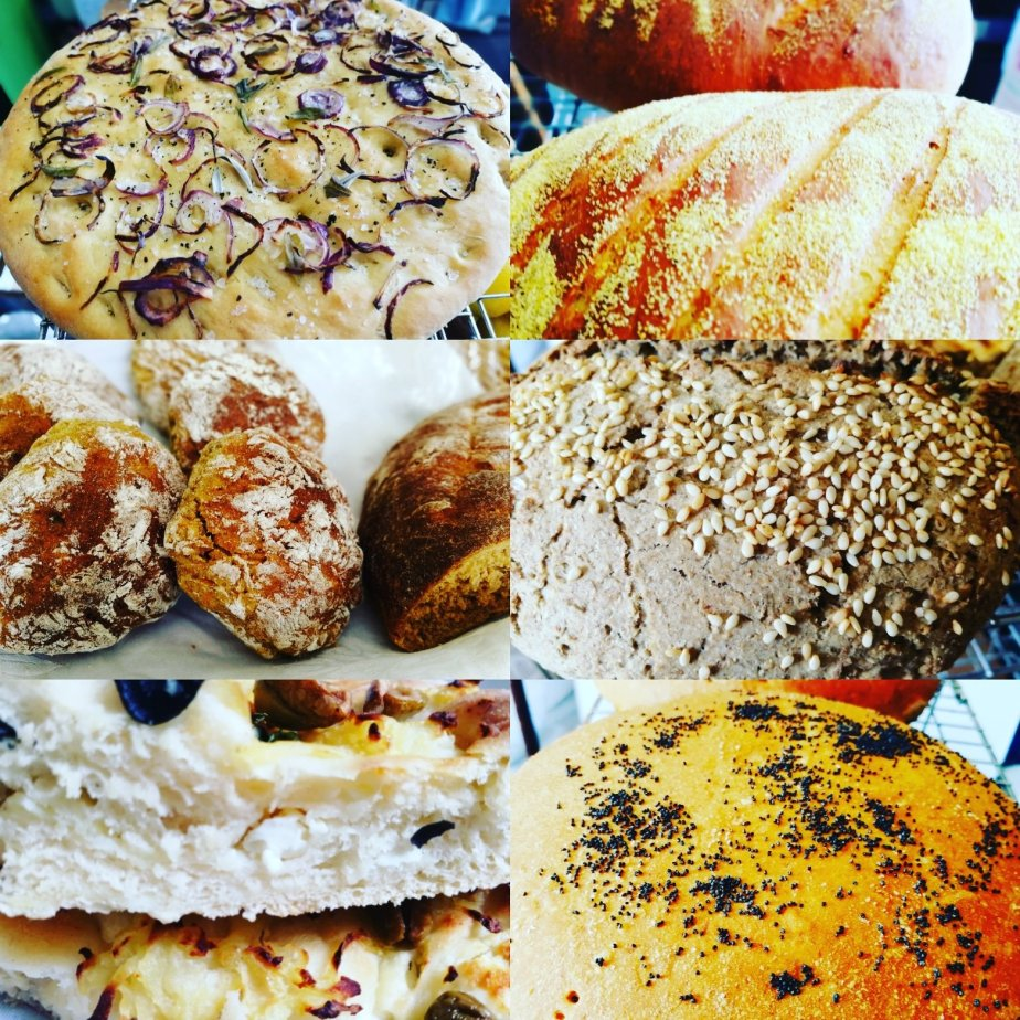 Home made bread, Artisan Breads, Organic Bread, Cheese Breads, Sweet potato & walnut bread