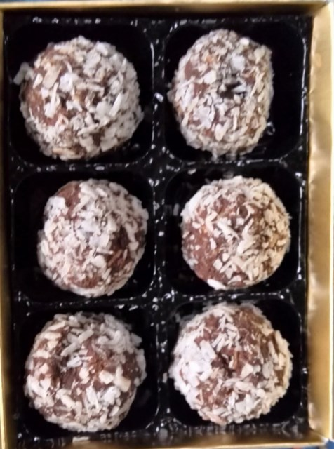 Chocolate & Coconut Truffles