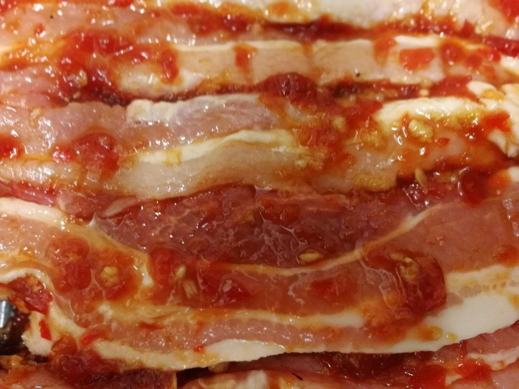 Chilli, pork, sweet potatoes, fast food, homemade, recipe